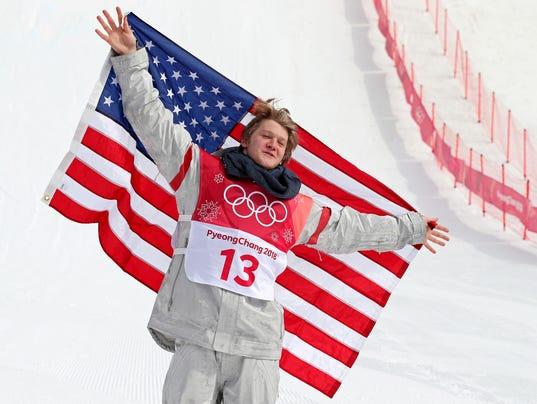 Olympics: Snowboard-Mens Big Air Final
