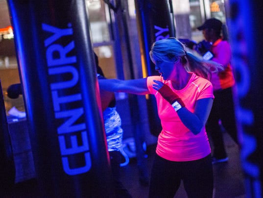 Boxing yoga clubbing combine at new detroit gym for Mitchell s fish market birmingham