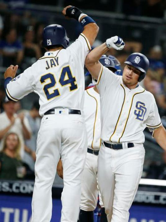 Hunter Renfroe, Jon Jay
