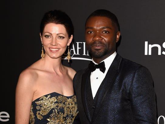'Selma' star David Oyelowo with Jessica Oyelowo at