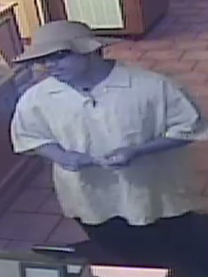 Police released a photo of a man they say robbed the Super Burrito on 500 Plumb Ln.