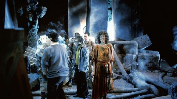 Director Ivan Reitman and stars Rick Moranis and Sigourney