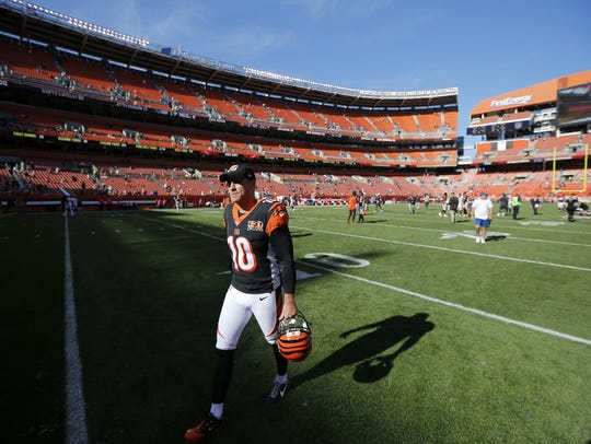 Cincinnati Bengals punter Kevin Huber has spent his