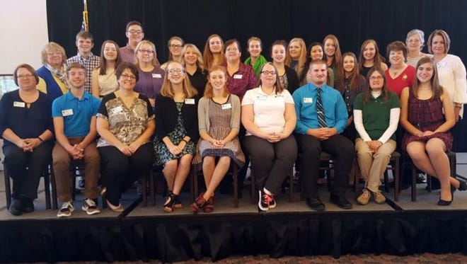 Aattendees elected several new members to Wisconsin 4-H Leadership Council at the 4-H Fall Forum held at the Green Lake Conference Center, Nov. 4-6.