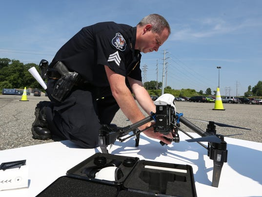 Clarkstown Police Send New Drones Soaring Show Off Law Enforcement Tool