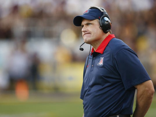 Arizona Wildcats coach Rich Rodriguez: 'We can get it done ...