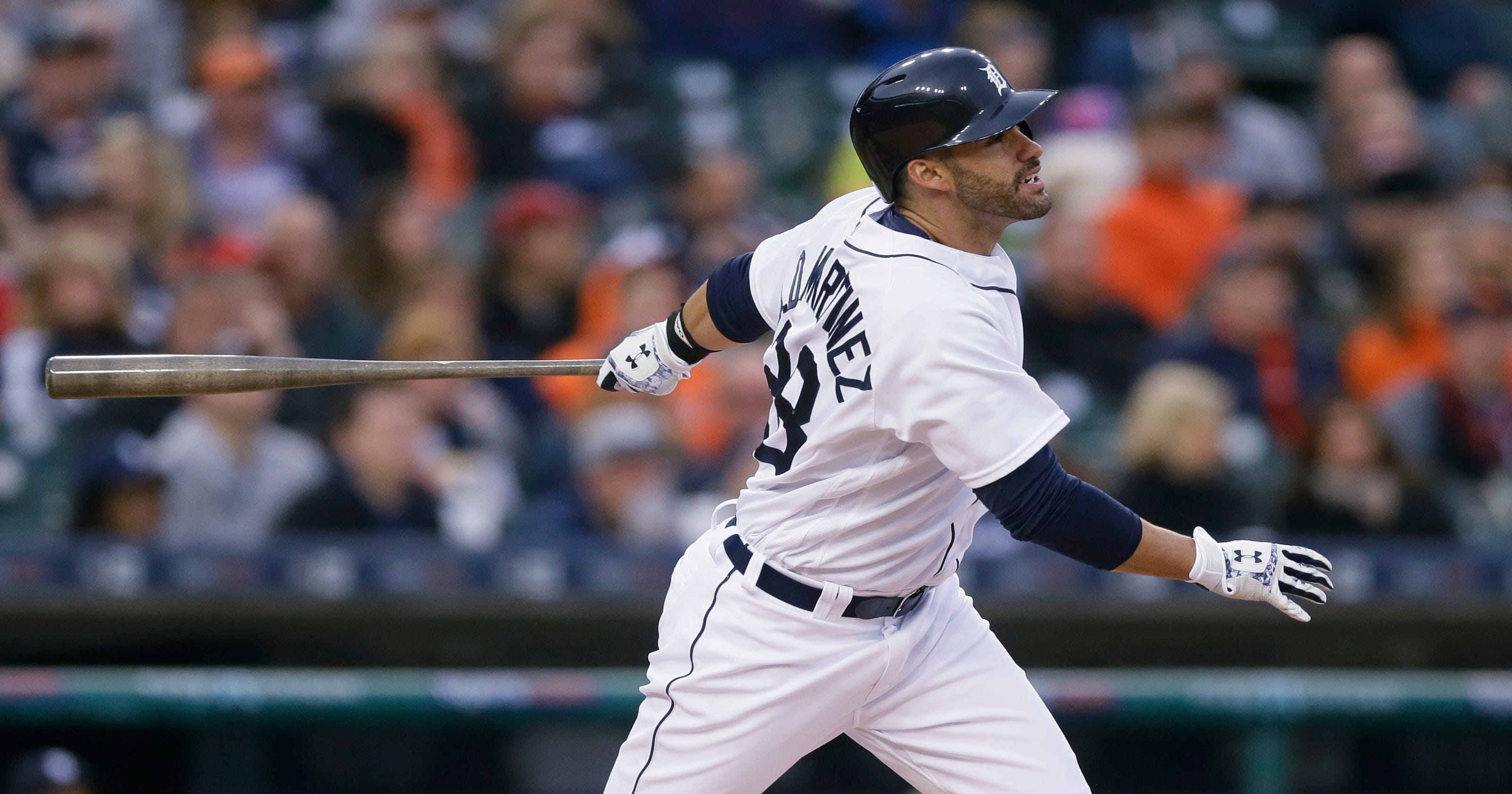 new arrival f284d 7a319 Detroit Tigers give struggling J.D. Martinez a 'mental' day off
