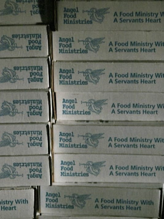 Angel Food Ministries had sold boxes of discounted food.