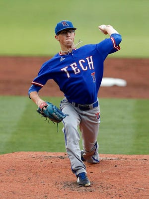 Louisiana Tech pitcher Phillip Diehl (11) was one of three Bulldogs selected in the 2016 MLB Draft.