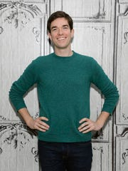 "FILE - In this Nov. 19, 2015 file photo, John Mulaney poses at AOL's BUILD Speaker Series promoting his Netflix comedy special ""The Comeback Kid"", at AOL Studios in New York.  Comedians Mulaney and Nick Kroll will co-host the 2017 Film Independent Spirit Awards on Feb. 25."