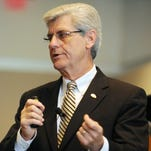Gov. Phil Bryant says he is unsure about signing a bill to create a group that would recommend whether Mississippi should ditch Common Core academic standards.