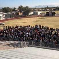 Gilbert, San Tan Valley, Mesa students walk out for 17 killed at Florida high school