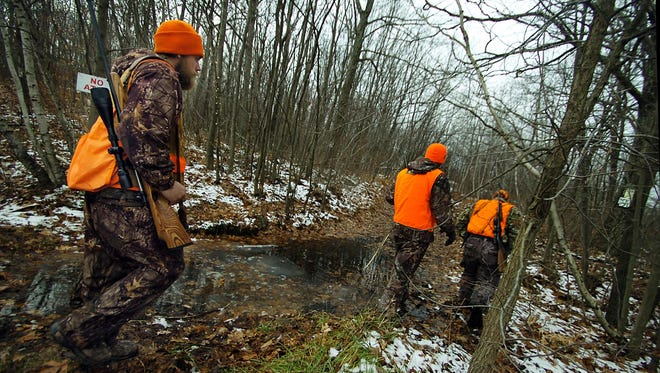 New Maryland hunting rules mandate that landowners must wear blaze orange while hunting on their own property.