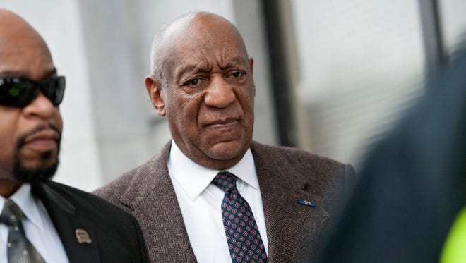 Bill Cosby enters the courthouse for a hearing in his sexual assault case in Norristown, Pa., on Feb. 3, 2016.