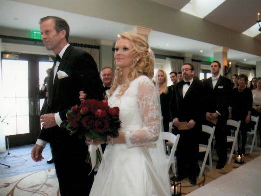 Brittany thune wedding