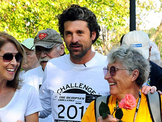 Patrick Dempsey Holds 1st Challenge Since Mothers Death
