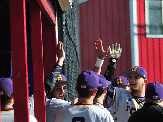 Union County defeated Hagerstown 5-3 in baseball, snapping