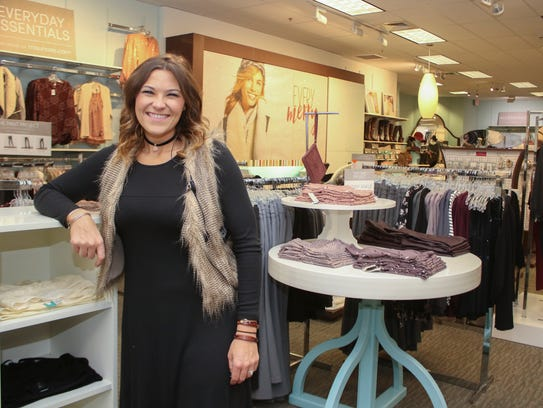 Maurices area manager Karri Carroll says Maurices in