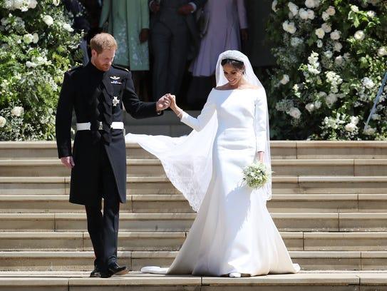 El Príncipe Harry, el Duque de Sussex y Meghan Markle,