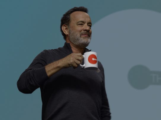 Tom Hanks plays a Steve Jobs-like visionary in 'The