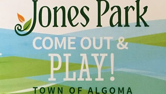 Funds are being raised for Jones Park in the town of Algoma.