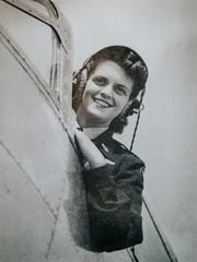 Mildred (Jane) Baessler, a member of the Women Airforce