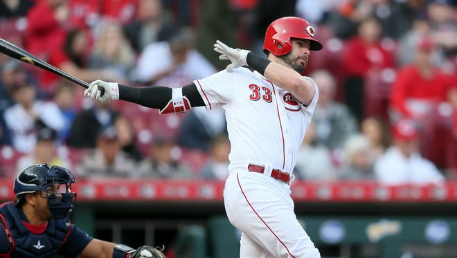 Jesse Winker is among several young starters for the Cincinnati Reds. Paul Daugherty wonders: Are they any better than any other team's fine players?