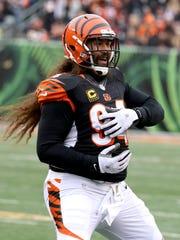 Cincinnati Bengals defensive tackle Domata Peko (94)
