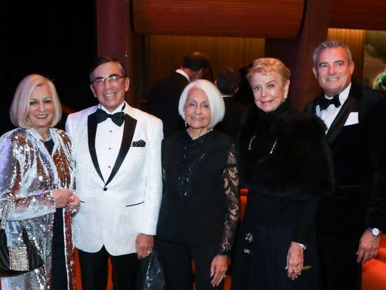 From left to right: Platinum Sponsor Helene Galen,