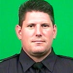 This photo provided by the New York City Police Department shows Detective Joseph Lemm. Police Commissioner William Bratton said on Monday, Dec. 21, 2015, that Lemm is one of six American troops killed in a suicide attack near Bagram Airfield in Afghanistan. (New York City Police Department via AP)