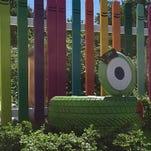 The Children's Community Garden in National Park produced enough fresh vegetables for 10 families last summer.