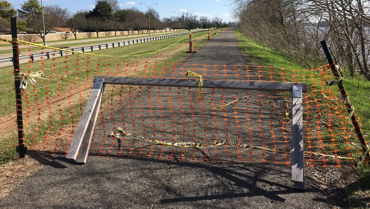 Get 'er Done: Part of Bossier running trail closed