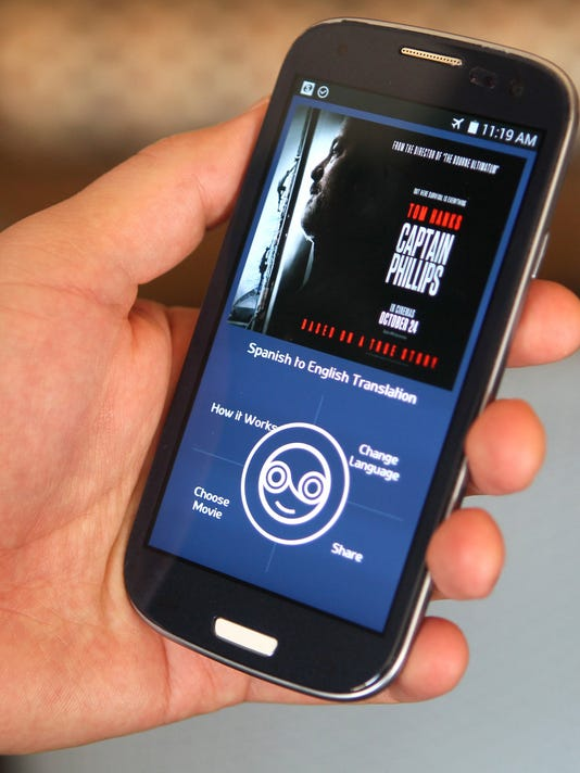 Listo app seeks to overcome language barrier for moviegoers