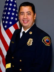 CONTRIBUTED PHOTOVentura City Fire Chief David Endaya.