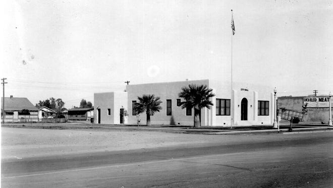The old Chandler City Hall, including city offices, council chamber and jail, was dedicated in May 1923.