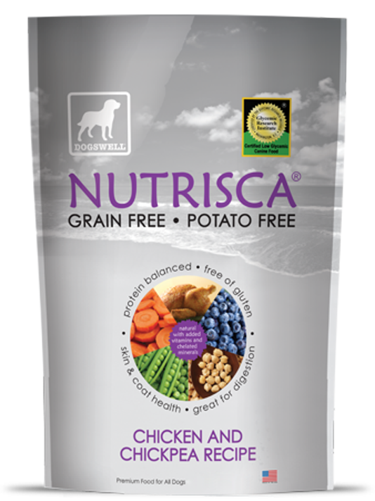 Dogswell Nutrisca Chicken And Chickpea Recipe Dry Dog Food