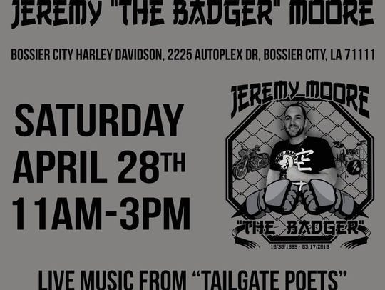 A benefit for the children of Jeremy Moore will be