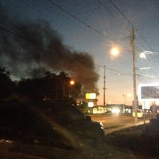 Fire at Busch Boulevard and Hialeah