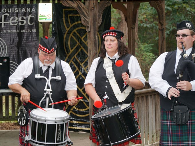 The Northeast Louisiana Celtic Festival hosted by the