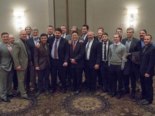 Canton football coaches gather Nov. 20 at Laurel Manor