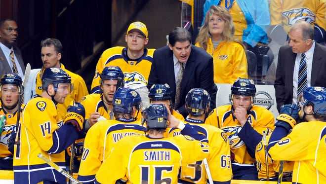 Predators coach Peter Laviolette has a history of turning teams around in his first season.