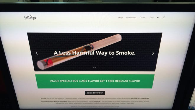 Then-Sheriff Robert Arnold of Rutherford County in Tennessee had a captive audience for his JailCigs electronic cigarette sales and in about a year and a half sold more than 10,000 units to his own inmates. Trouble was he never got a county contract for the enterprise.