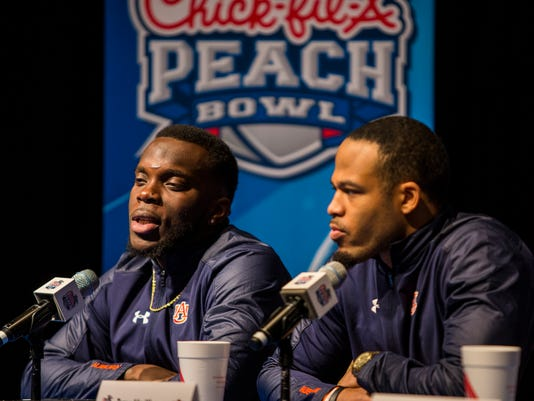 Auburn Peach Bowl defensive players