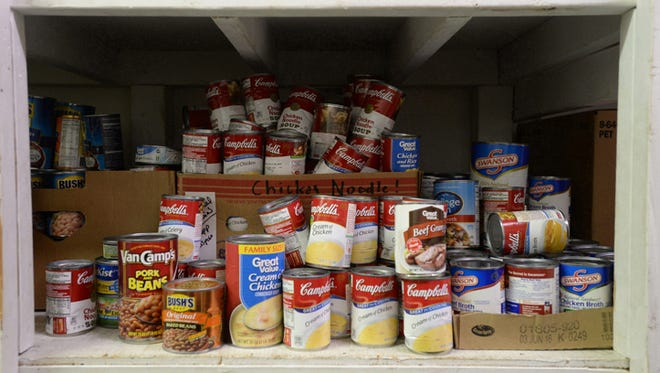Non-perishable foods will be accepted to help pay off library fines at Morrisson-Reeves Library.