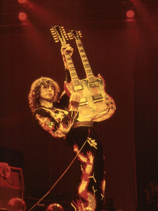 The Art Of 12 Led Zeppelin Accused Of Stealing Stairway To Heaven