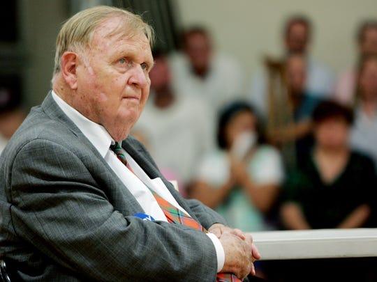 Douglas Henry, longest-serving member of Tennessee legislature, 90.