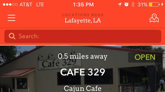 The Waitr mobile app