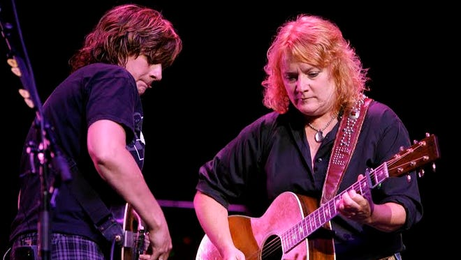 Amy Ray, left, and Emily Saliers of The Indigo Girls will be in Jackson Sept. 14.