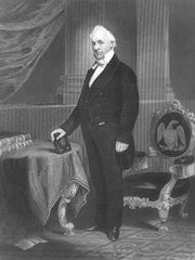 James Buchanan served as president from 1857–1861, immediately prior to the Civil War.