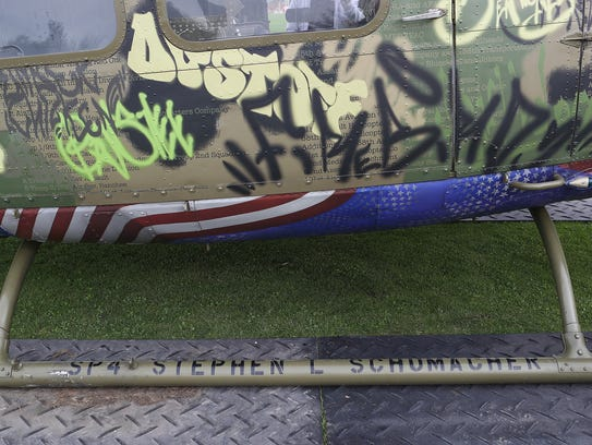 The name of one of the soldiers killed when this helicopter